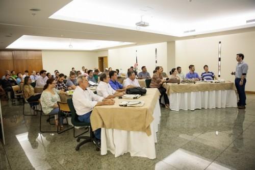 Treinamento aconteceu ao longo da semana em Brasília. Fotos: Gustavo Fröner