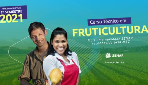 Banner Processo Seletivo Curso Técnico em Fruticultura