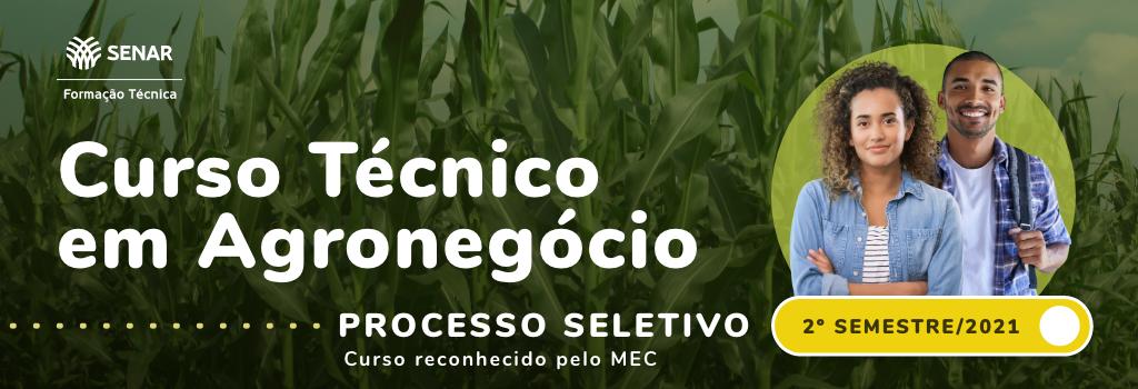 Apresentação do Curso Técnico em Agronegócio