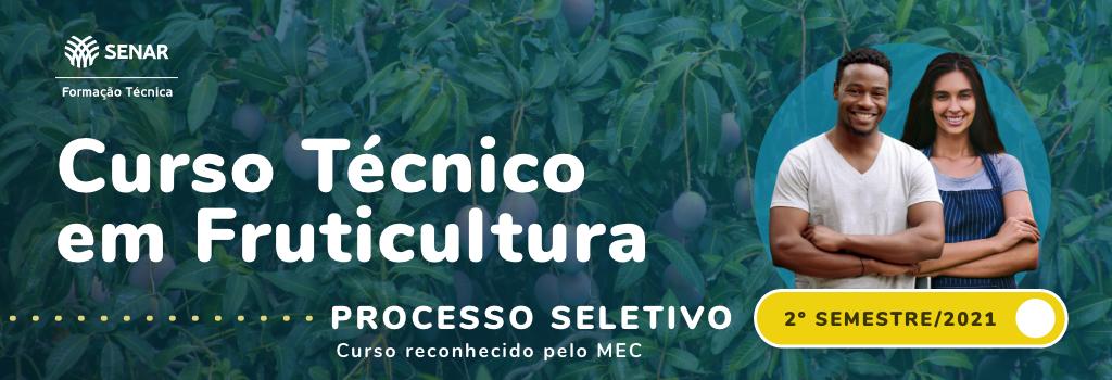 Apresentação do Curso Técnico em Fruticultura